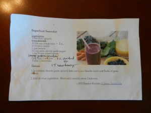 smoothy recipe